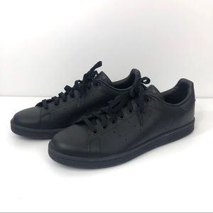 NEW Adidas Stan Smith All Black Sneakers